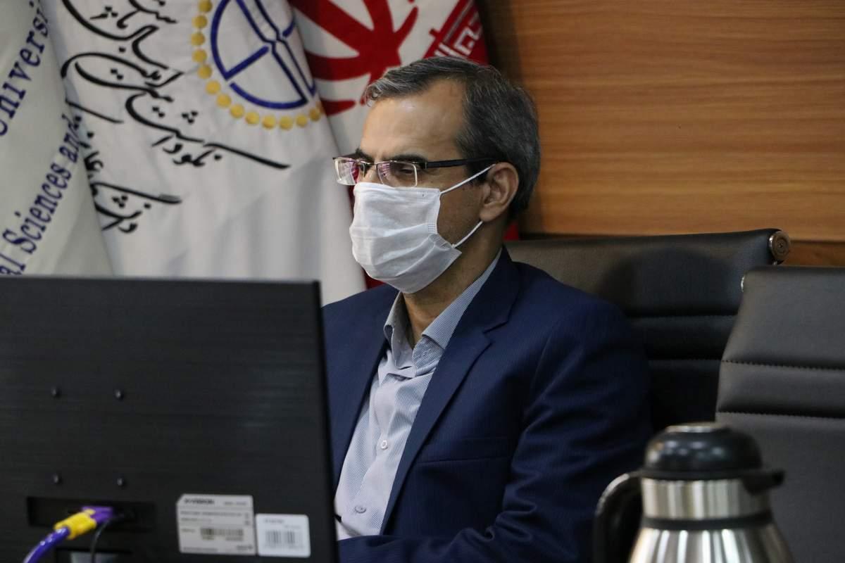 نشست فرماندار سمنان با رئیس دانشگاه علوم پزشکی استان سمنان ...